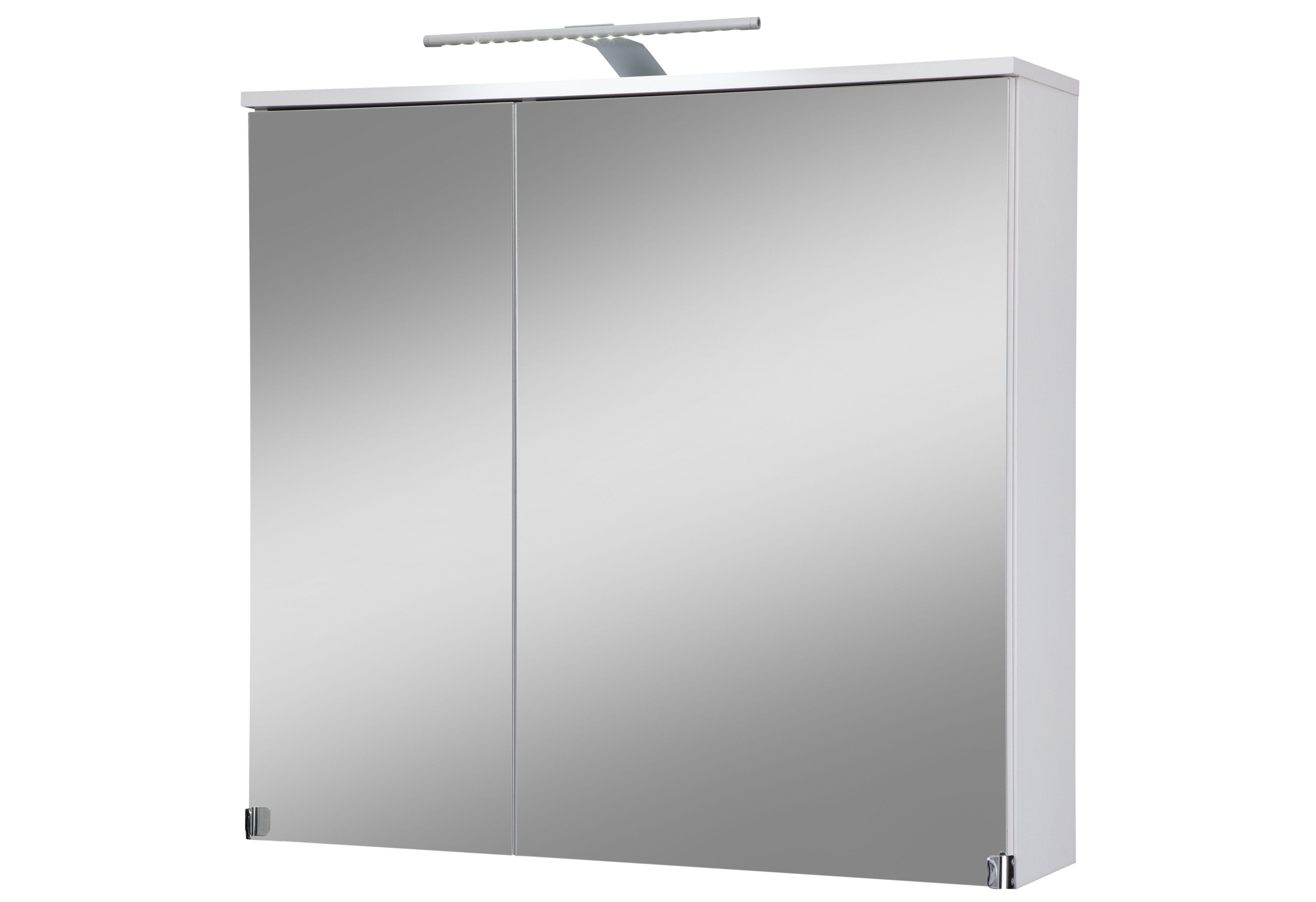 Kesper Spiegelschrank »Novara« Breite 80 cm, mit LED-Beleuchtung
