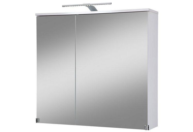 kesper spiegelschrank novara breite 80 cm mit led beleuchtung online kaufen otto. Black Bedroom Furniture Sets. Home Design Ideas