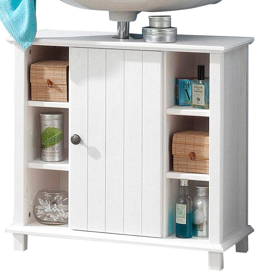 Welltime Waschbeckenunterschrank »Vili« in weiß-weiß