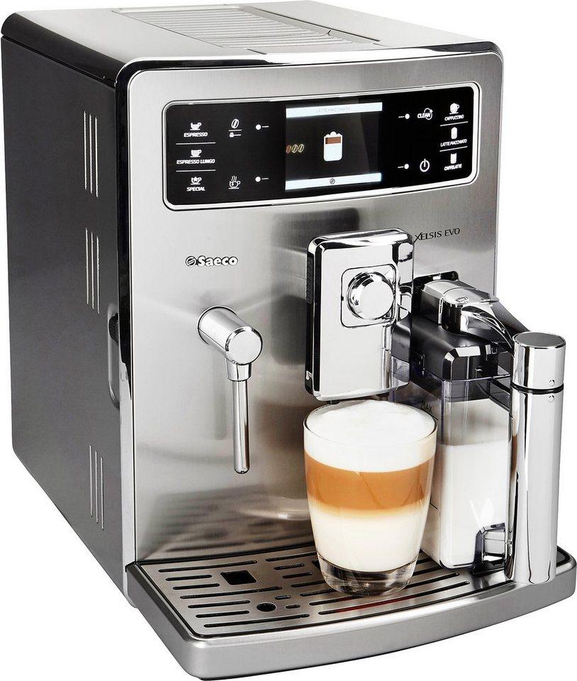 Saeco Kaffeevollautomat »HD8954/01 XELSIS EVO«, Edelstahl in Edelstahl