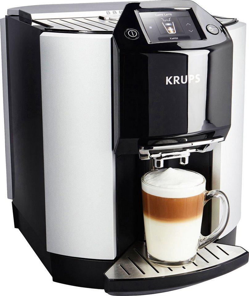 Krups Kaffeevollautomat EA9010 in Edelstahl/schwarz