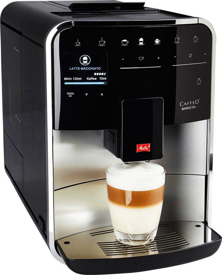Melitta Kaffeevollautomat »CAFFEO Barista T F 731-101« in silber-schwarz