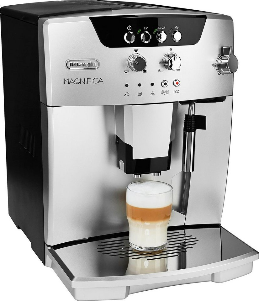 De'Longhi Kaffeevollautomat »Magnifica New Generation ESAM 04.110.S / 04.110.B« in silber