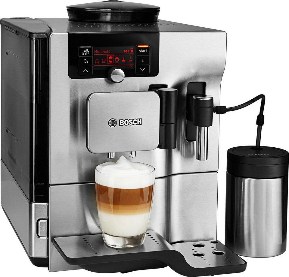 Bosch Kaffeevollautomat »VeroSelection 700 TES80751DE« in Edelstahl