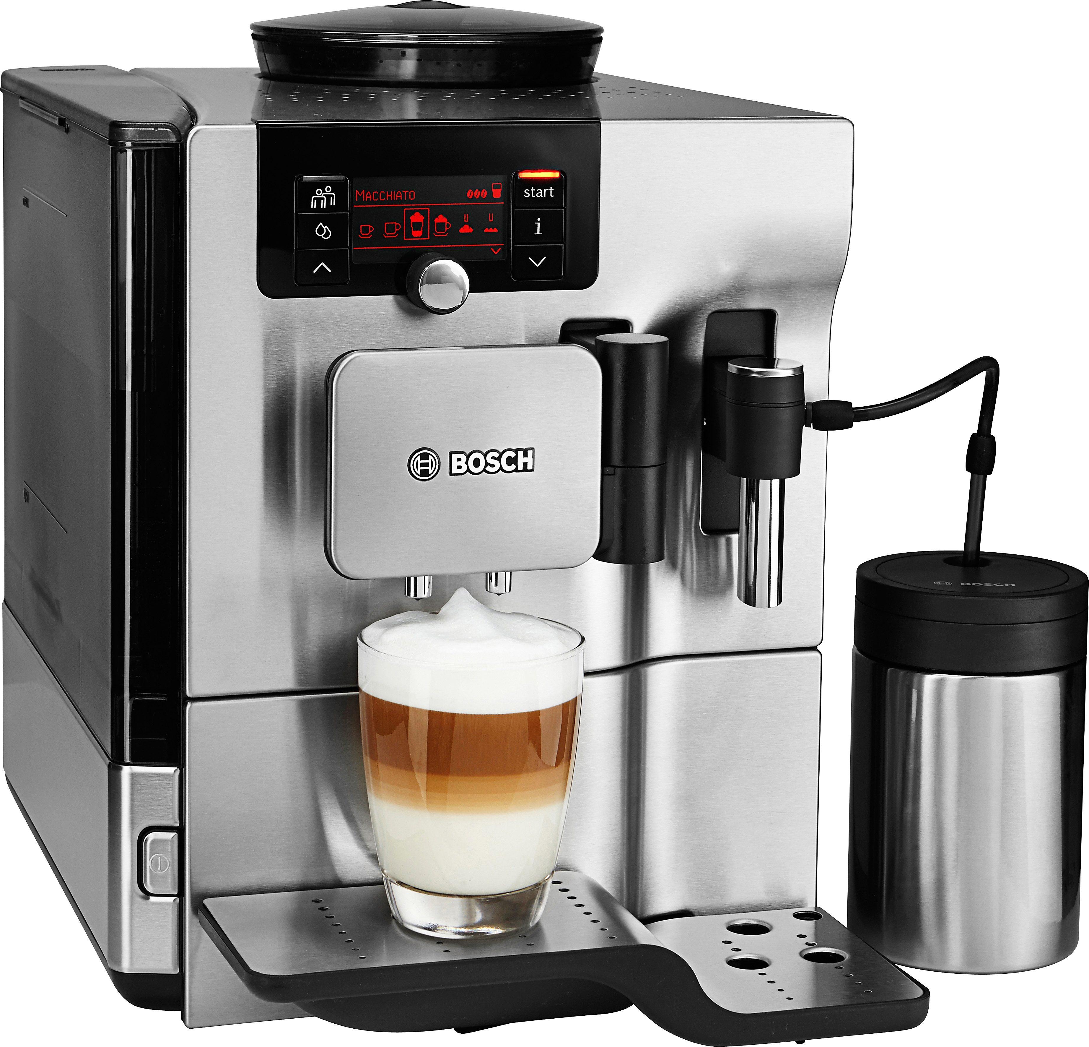 BOSCH Kaffeevollautomat VeroSelection 700 TES80751DE, 2,4l Tank, Scheibenmahlwerk