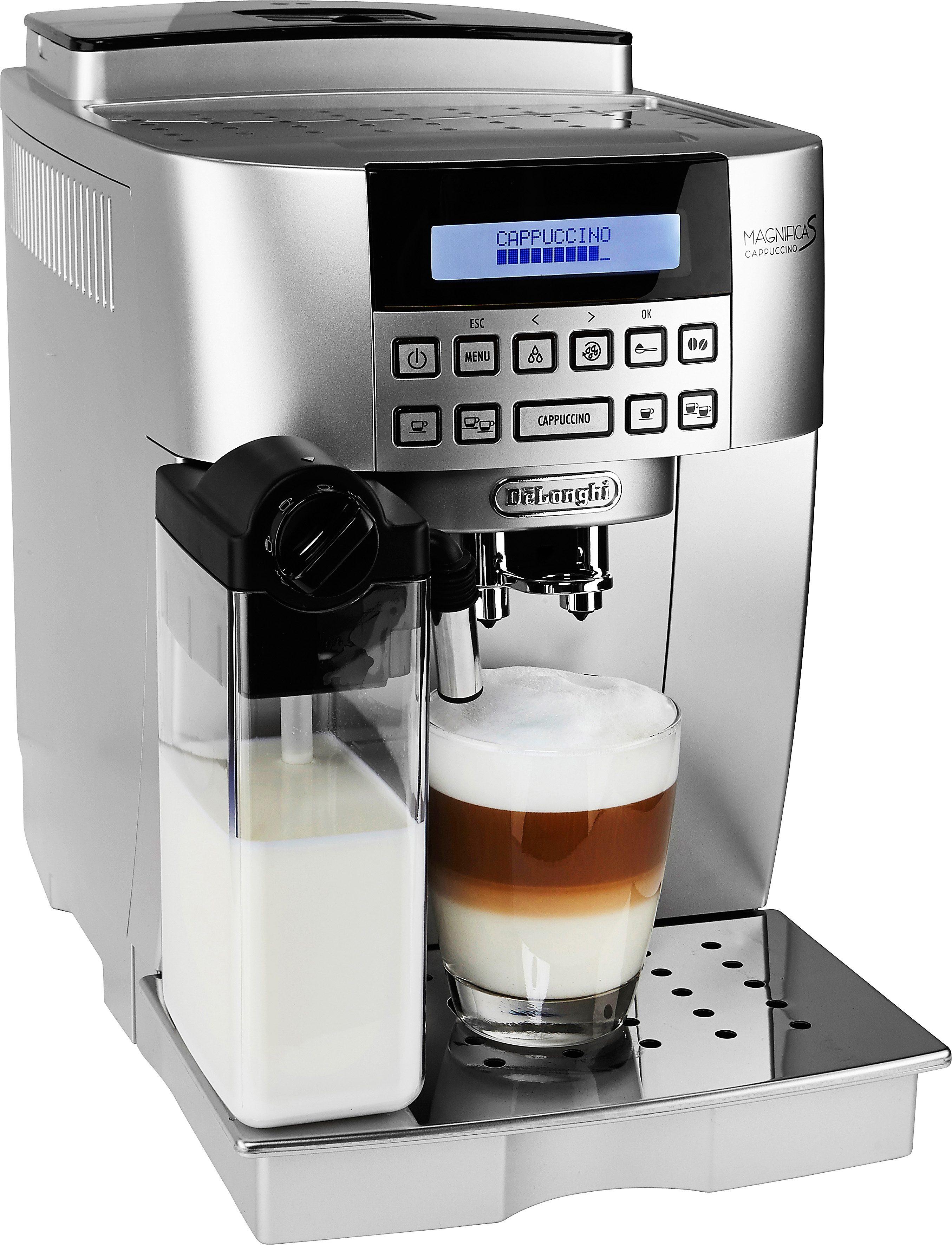 De'Longhi Kaffeevollautomat Magnifica S Cappuccino ECAM 22.366.S, Kegelmahlwerk