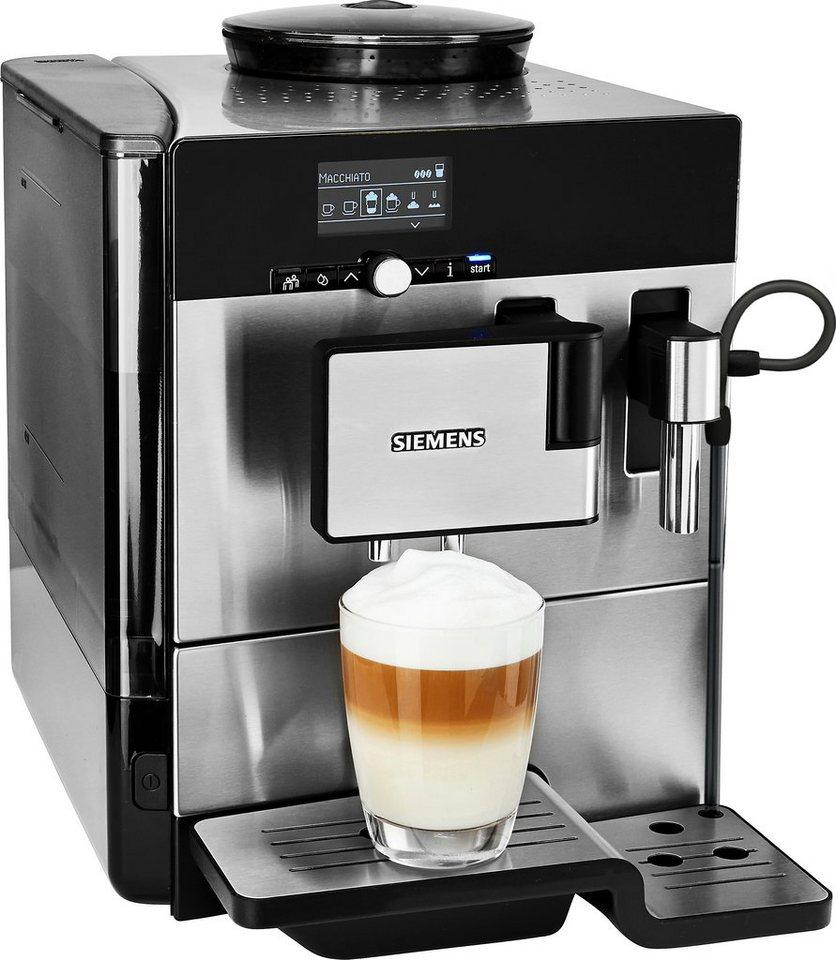 siemens kaffeevollautomat eq 8 series 300 te803509de scheibenmahlwerk online kaufen otto. Black Bedroom Furniture Sets. Home Design Ideas