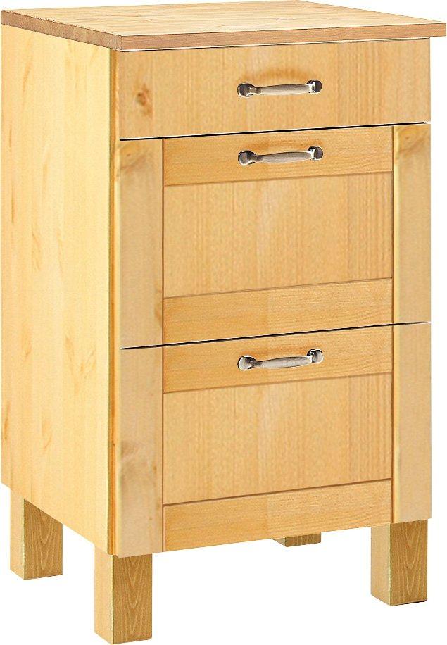 Küchenschränke - Home affaire Unterschrank »Alby«, Breite 50 cm, 1 Schubkasten, 2 Auszüge  - Onlineshop OTTO