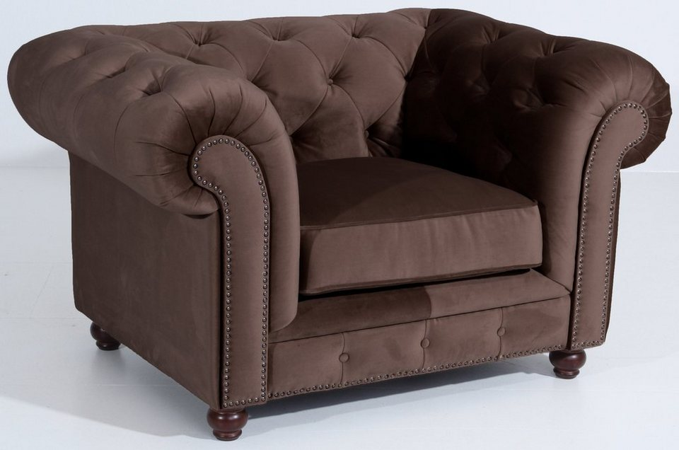 Max Winzer Chesterfield Sessel Old England Mit Edler