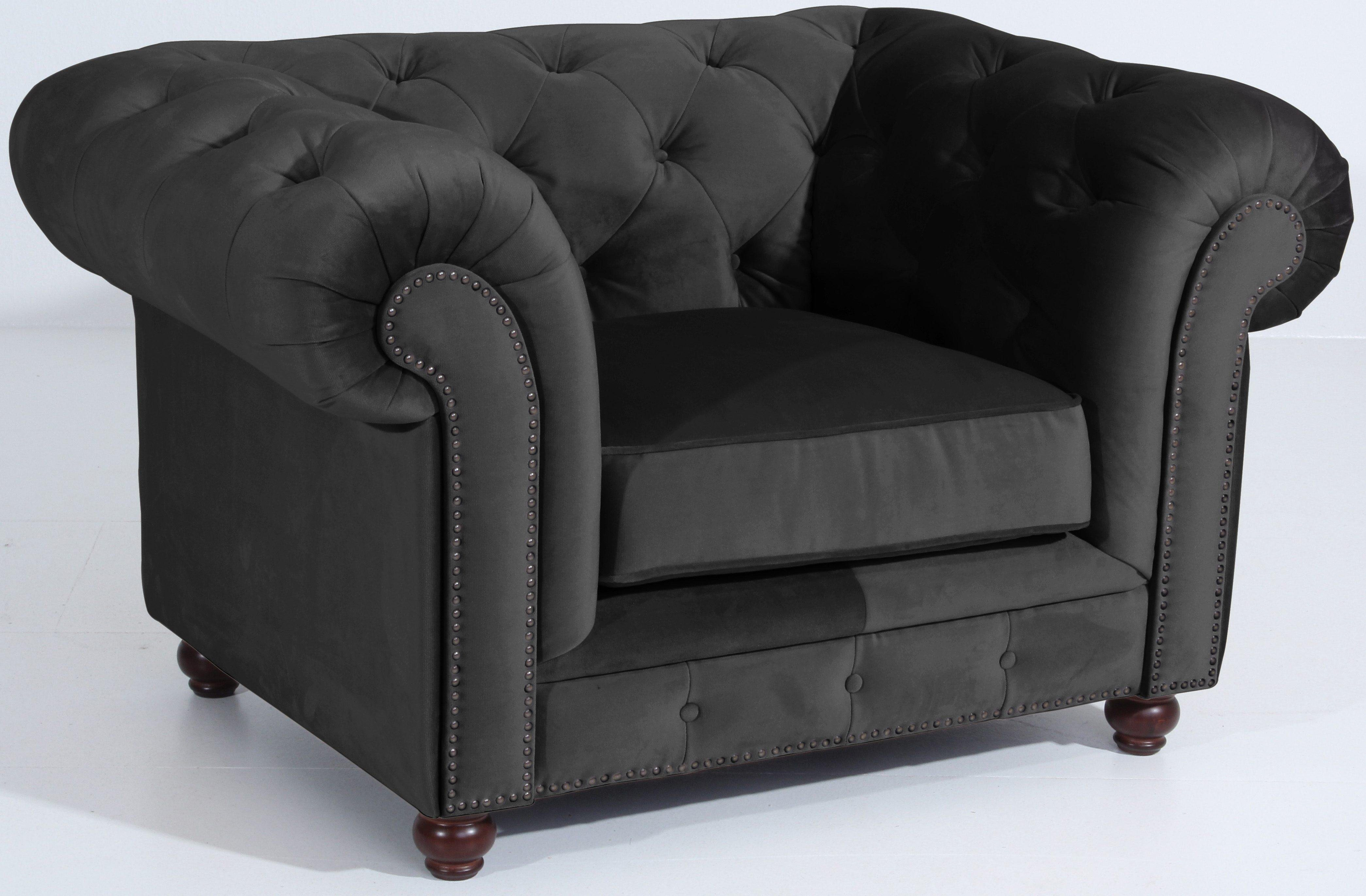 polyester chesterfield sessel online kaufen m bel suchmaschine. Black Bedroom Furniture Sets. Home Design Ideas
