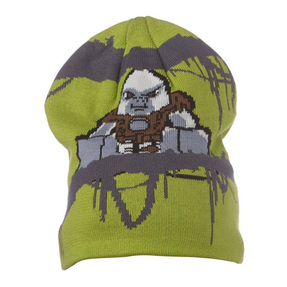 "LEGO Wear Legends of Chima Strickmütze Alf Winter Mütze Hut ""Grizzam"" in grün"