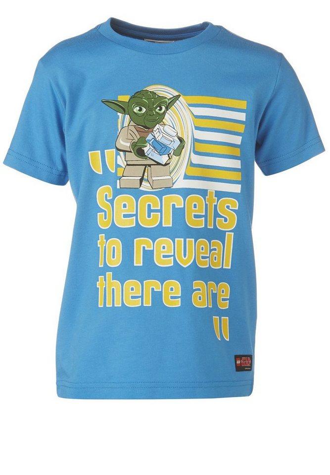 "LEGO Wear STAR WARS(TM) T-Shirt Tristan ""Secrets"" in medium denim"