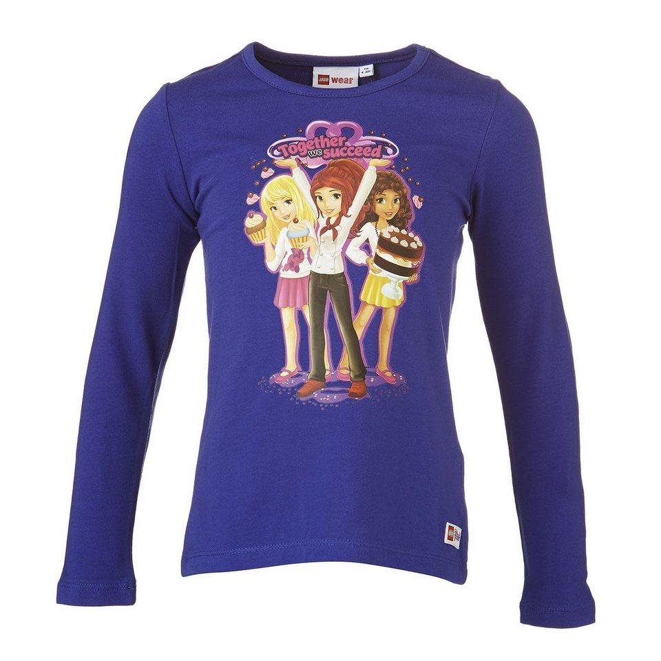 "LEGO Wear Langarm T-Shirt LEGO® Friends Theodora ""Törtchen"" Shirt in lila"
