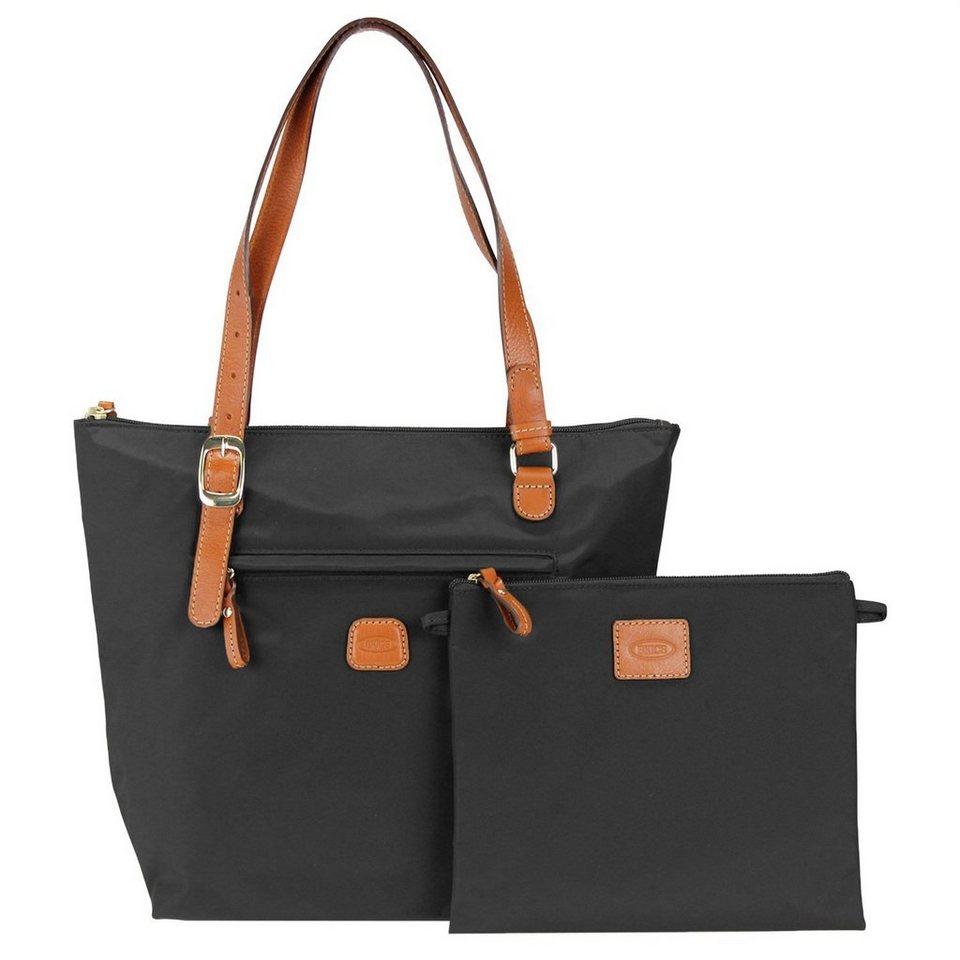Bric's X-Bag Shopper 26 cm in schwarz/braun