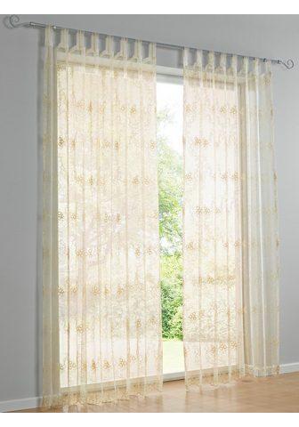 Декоративные занавески с окантовка