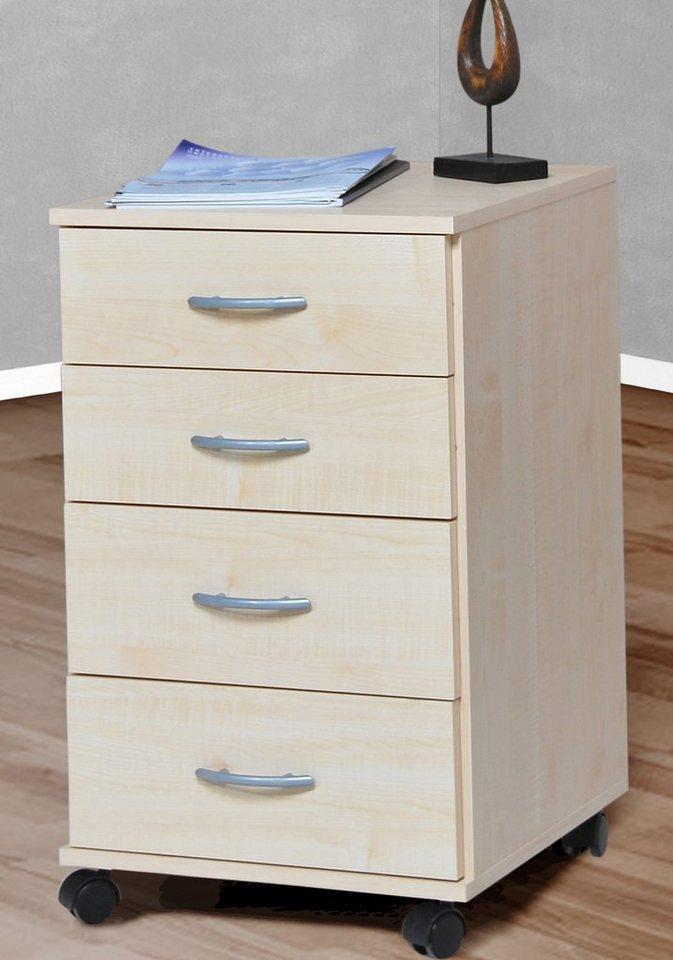 rollcontainer 1191 1 mit 4 schubk sten kaufen otto. Black Bedroom Furniture Sets. Home Design Ideas