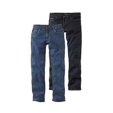 Arizona Stretch-Jeans »John« Straight Fit (Packung, 2 tlg.)