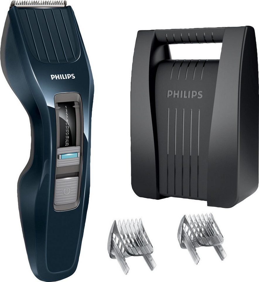 Philips Haar- und Bartschneider HC3424/80 2-in-1, mit DualCut Technologie in schwarz