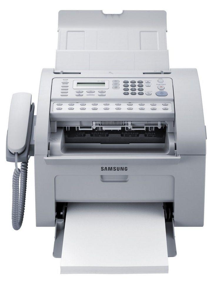 Samsung Drucker »SAMSUNG SF-760P mono Fax 4in1 USB2.0 (SF-760P/SEE)« in weiß