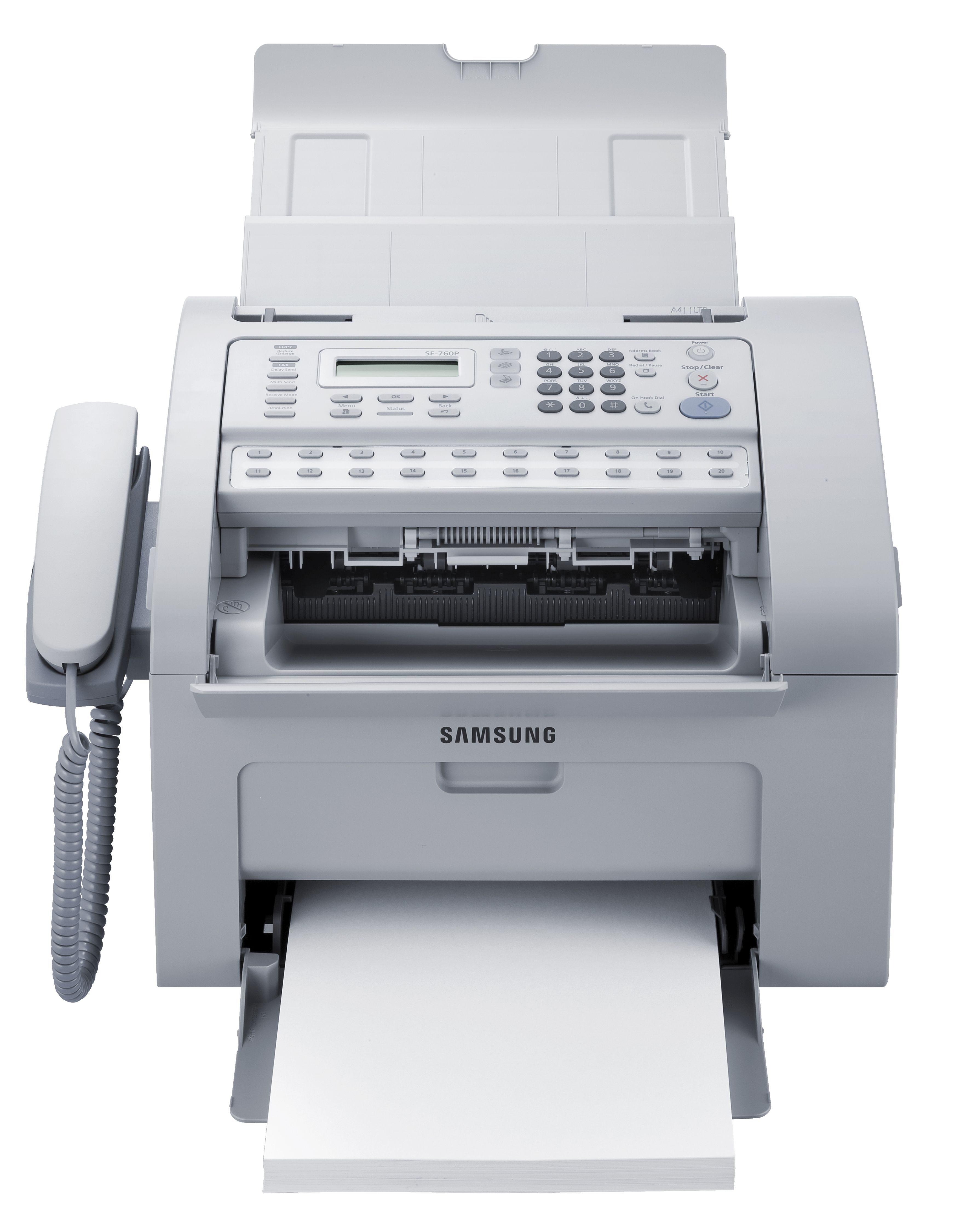 Samsung Drucker »SAMSUNG SF-760P mono Fax 4in1 USB2.0 (SF-760P/SEE)«
