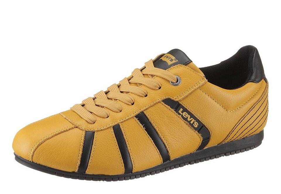 Levi's® »Almayer« Sneaker mit modischen Streifen in gelb-schwarz