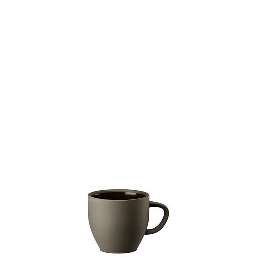 Rosenthal Tasse »Junto Slate Grey Kaffee-Obertasse«, Steinzeug