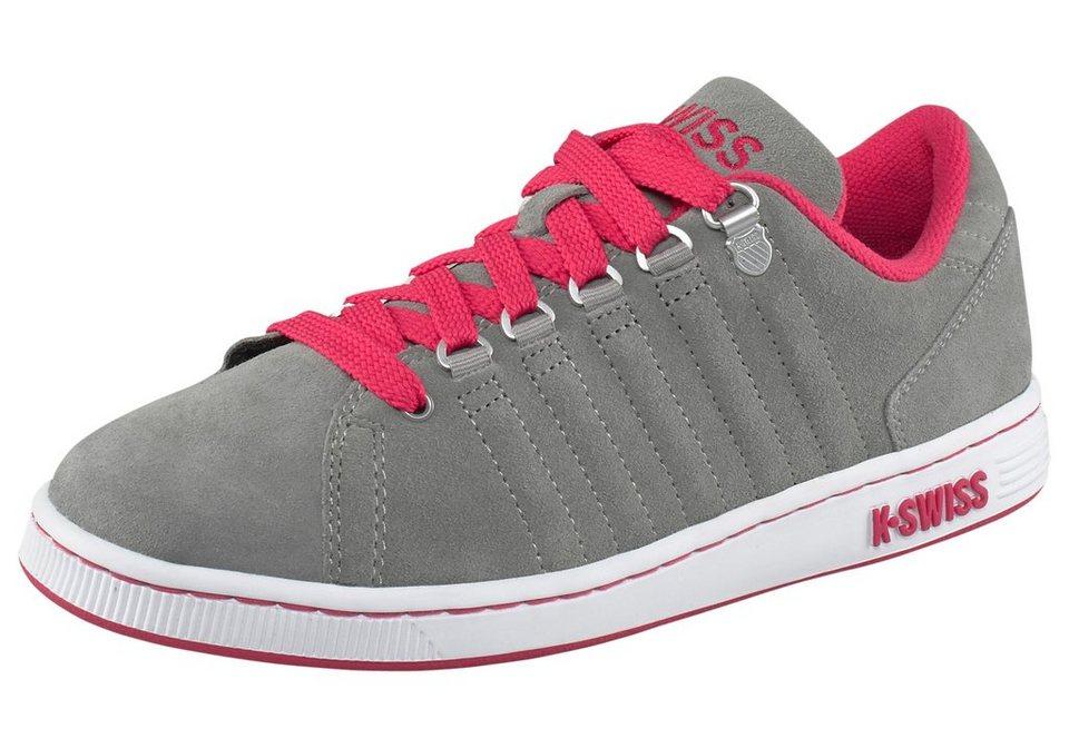 K-Swiss Lozan III Sneaker in Grau-Pink