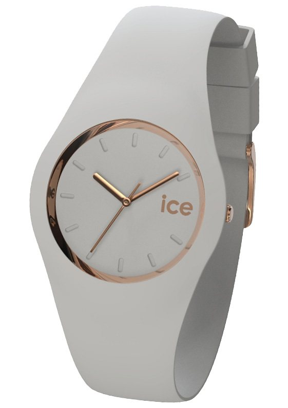 "Ice watch, Armbanduhr, ""ICE-GLAM Pastell Wind, ICE.GL.WD.U.S.14"" in grau"
