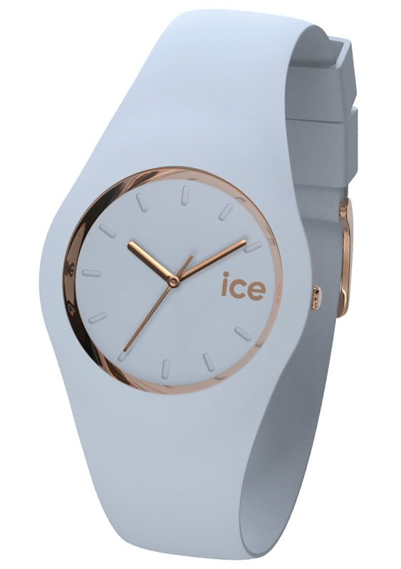 "Ice watch, Armbanduhr, ""ICE-GLAM Pastell Lotus, ICE.GL.LO.U.S.14"" in hellblau"