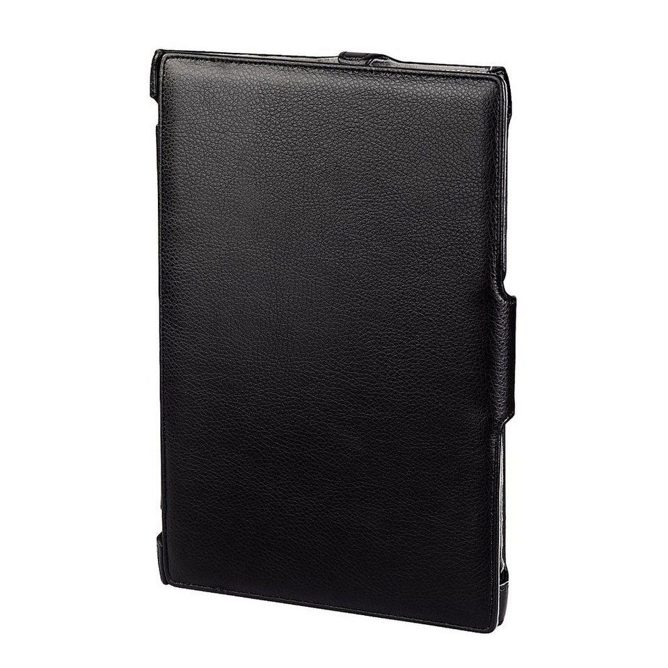 Hama Portfolio Slim für Apple iPad Air, Lederoptik, Schwarz in Schwarz