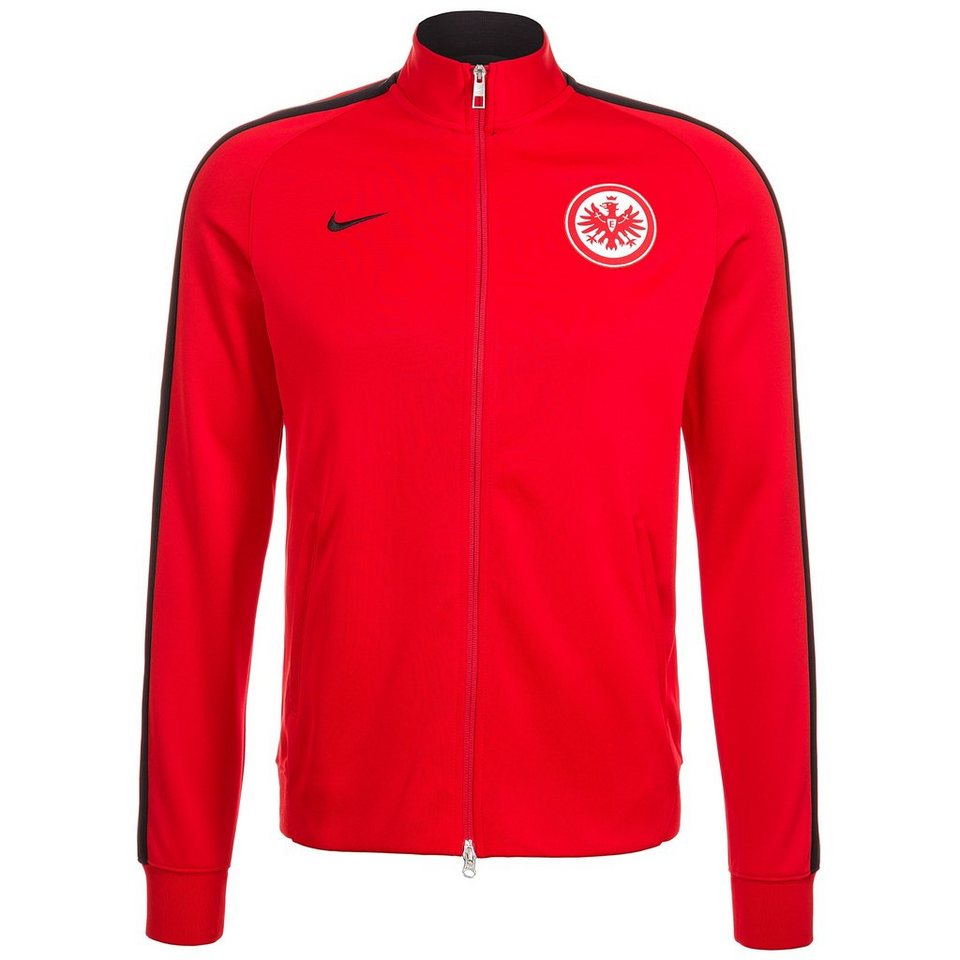 nike eintracht frankfurt n98 authentic track jacke herren. Black Bedroom Furniture Sets. Home Design Ideas