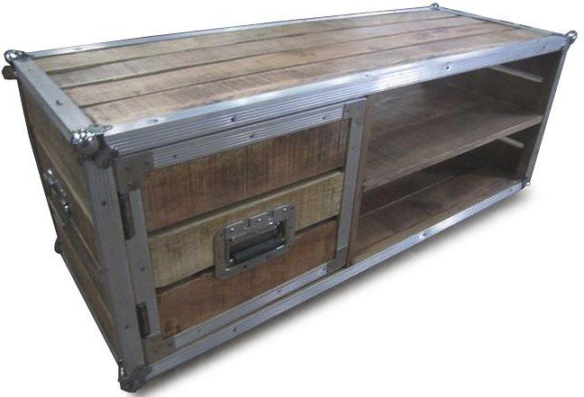Couchtisch, Home affaire, »Stage box«, Breite 120 cm in natur