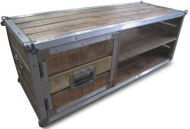 Couchtisch, Home affaire, »Stage box«, Breite 120 cm