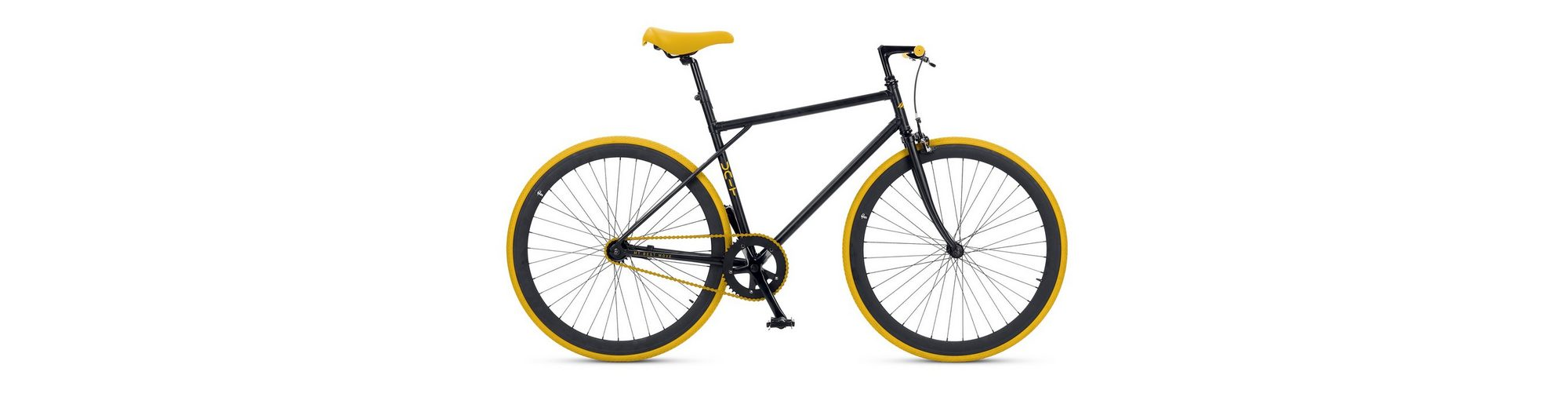 Fitnessbike, 28 Zoll, 1 Gang, Freilauf oder Fixed Gear, »Unit 581 Coaster Brake 1 S«, MBM