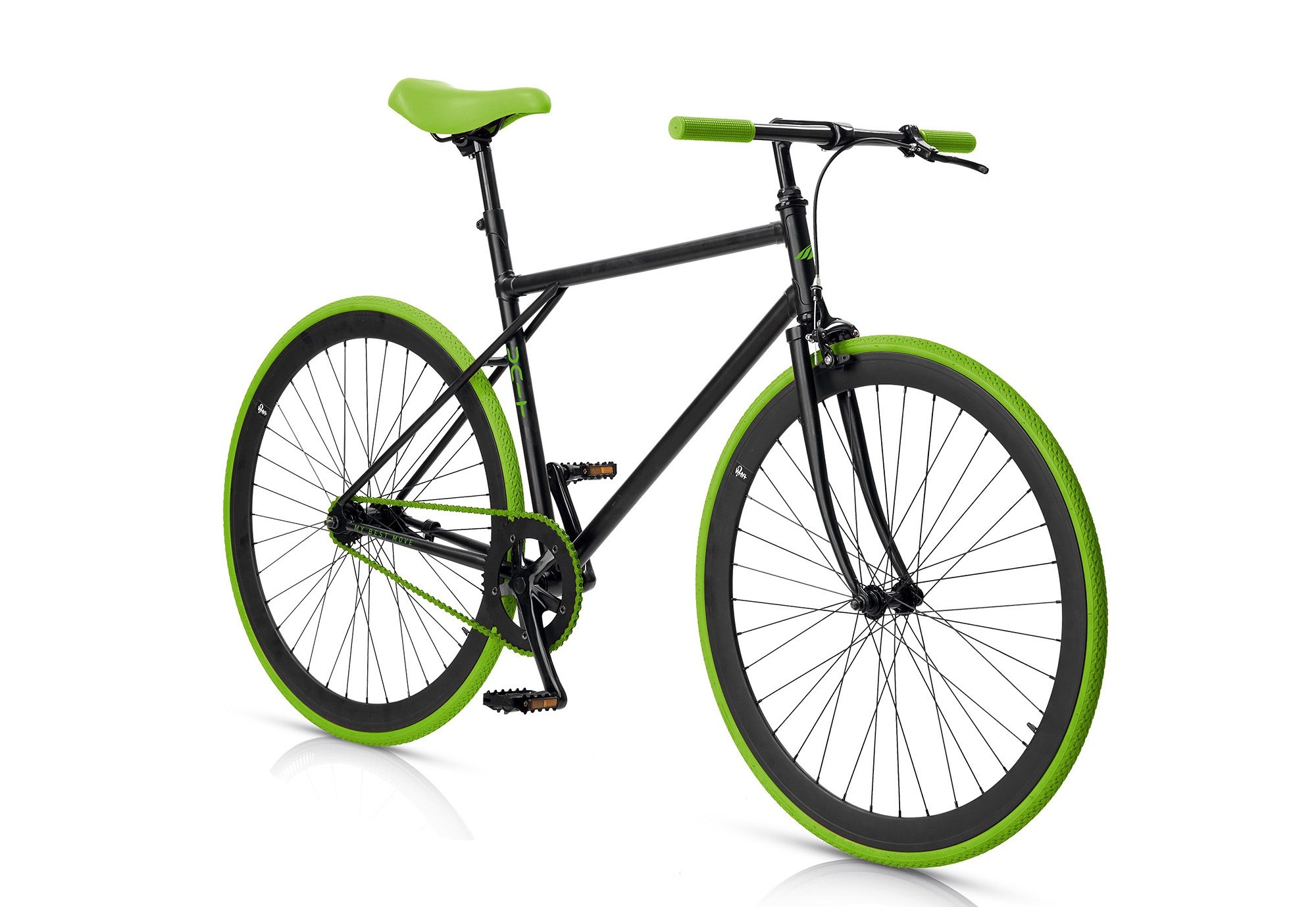 Fitnessbike, 28 Zoll, 1 Gang,Freilauf oder Fixed Gear, »Unit 581 Coaster Brake 1 S«, MBM