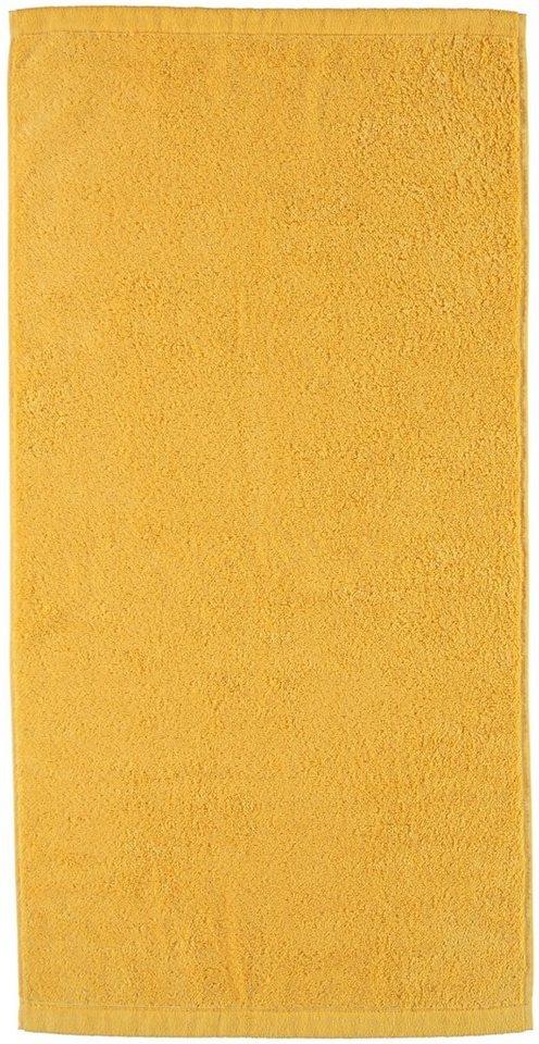 Handtücher, Cawö, »Lifestyle Uni«, aus 100% Baumwolle in apricot