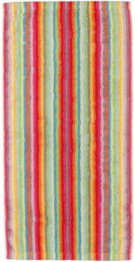 Saunatuch »Lifestyle Streifen«, Cawö, mit farbenfrohen Streifen