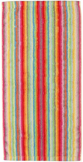 Handtücher »Lifestyle Streifen«, Cawö, mit farbenfrohen Streifen