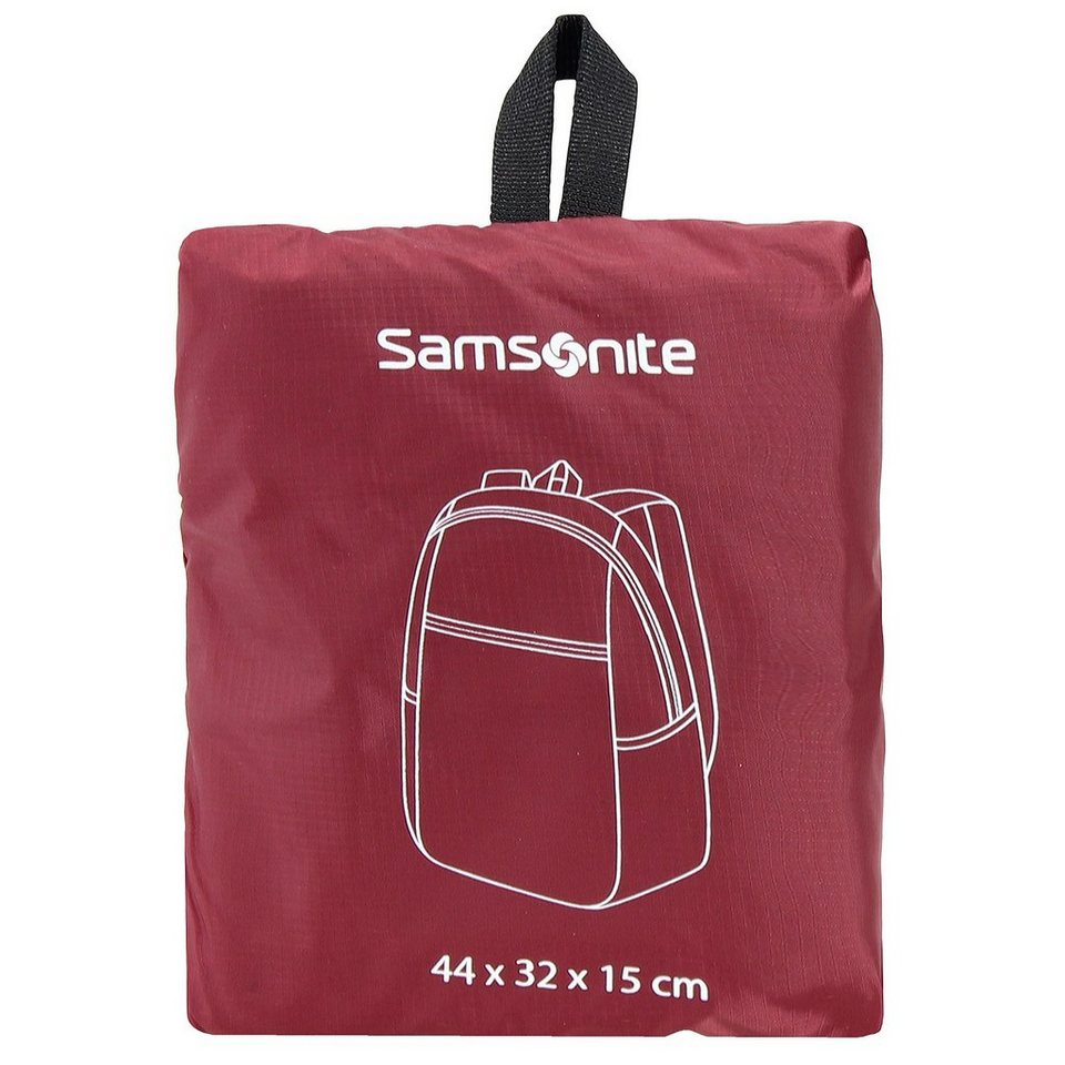 Samsonite Travel Accessories Rucksack 40 cm in red