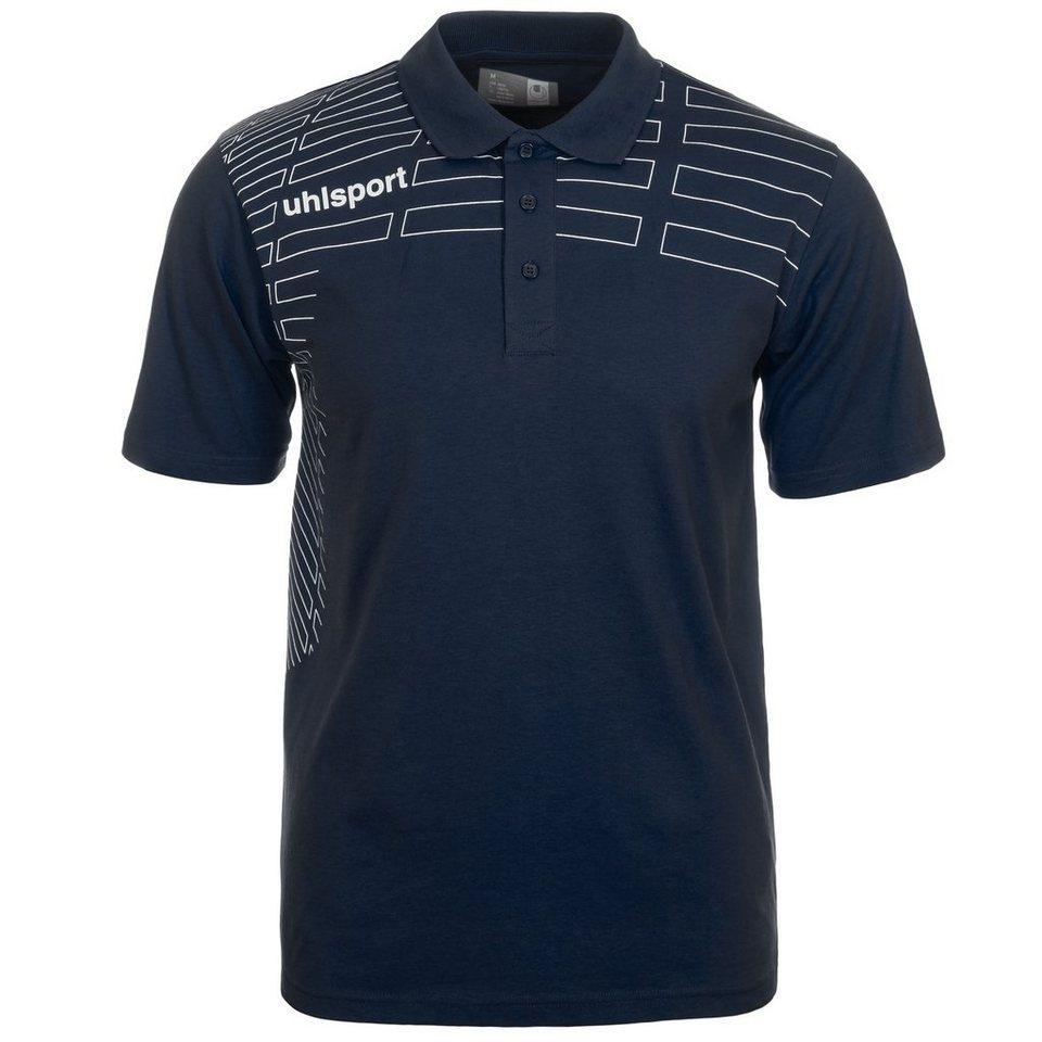 UHLSPORT Match Polo Shirt Kinder in marine/weiß