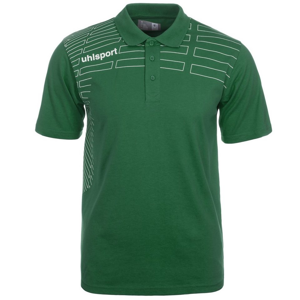 UHLSPORT Match Polo Shirt Kinder in lagune/weiß