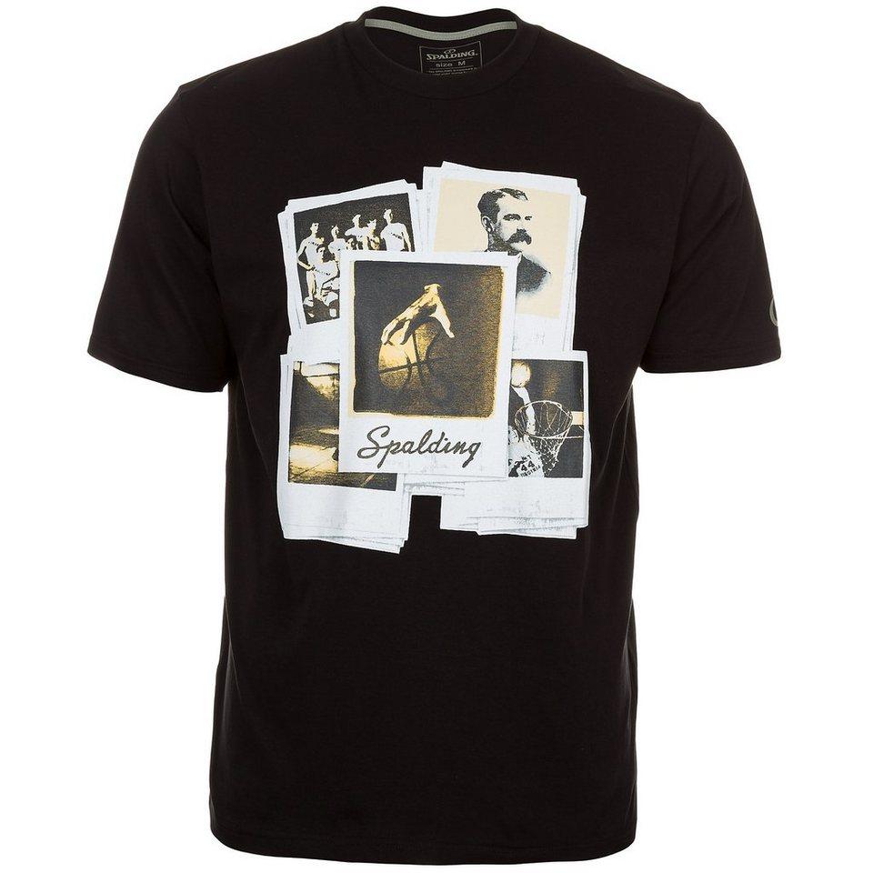 SPALDING T-Shirt Spalding Legend Herren in schwarz