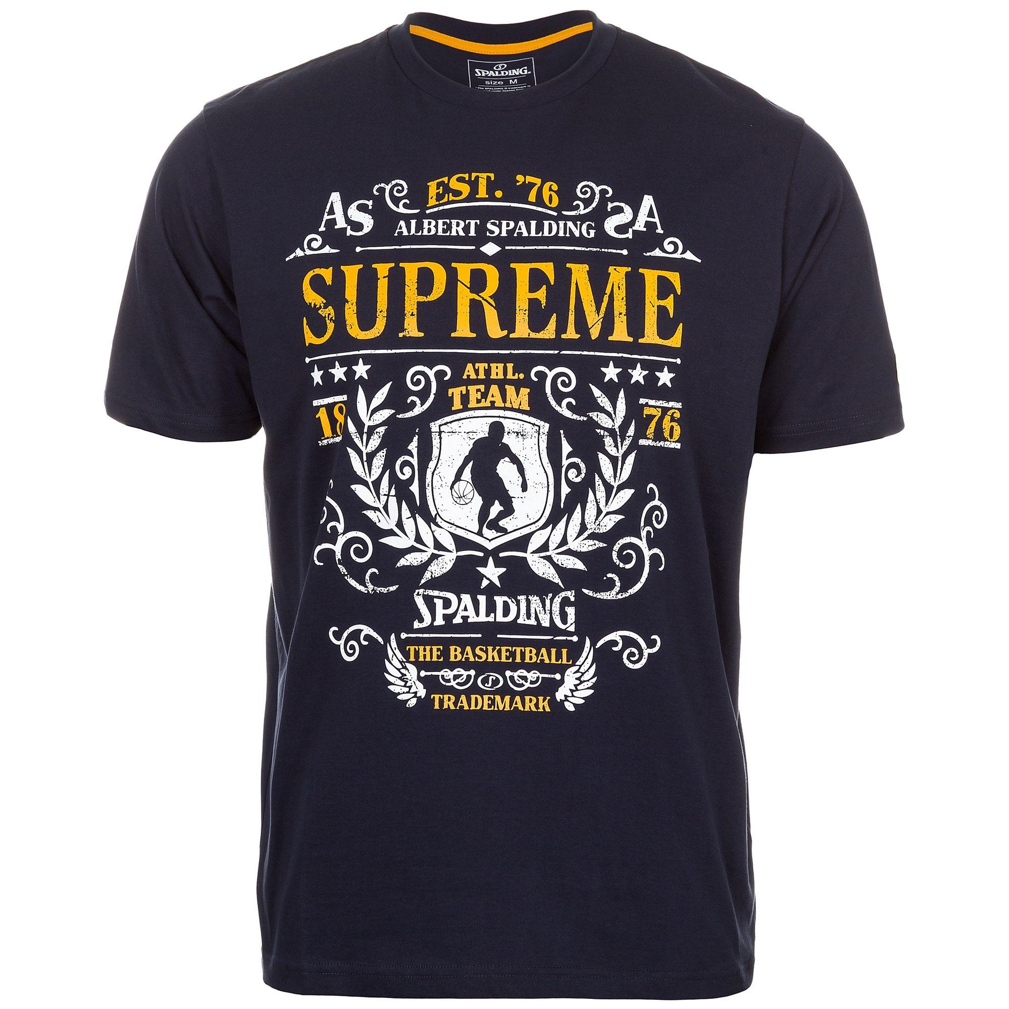 SPALDING T-Shirt Supreme Kinder