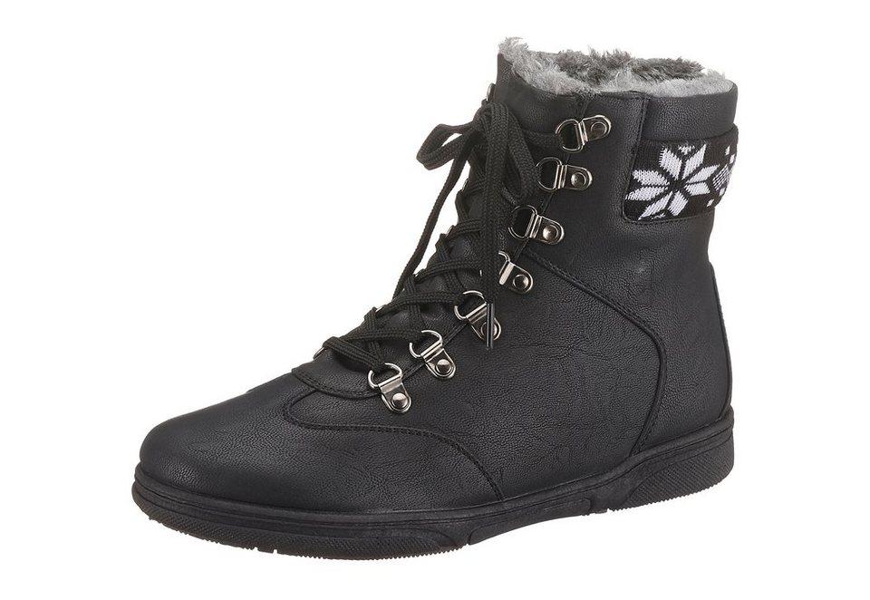Boots, City Walk in schwarz
