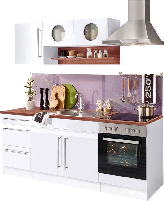 Einbauküchen - HELD MÖBEL Küchenzeile »Keitum«, mit E Geräten, Breite 210 cm  - Onlineshop OTTO
