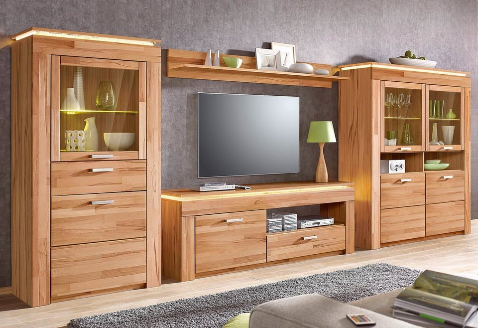 edle wohnwand fabulous great enorm wohnwand wei matt with wohnwand weis with edle wohnwand. Black Bedroom Furniture Sets. Home Design Ideas