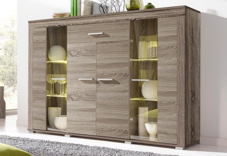 highboard breite 158 cm online kaufen otto. Black Bedroom Furniture Sets. Home Design Ideas