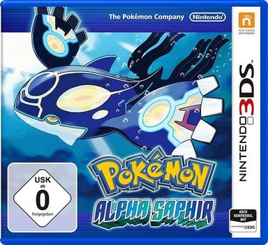 Pokémon Alpha Saphir Nintendo 3DS