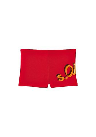 Boxer-Badehose, s.Oliver RED LABEL Beachwear in rot