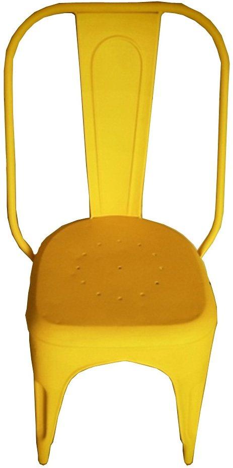 Stuhl, Home affaire, »Iron«, Breite 50 cm, im 2er-Set in gelb
